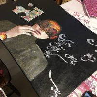 آموزش نقاشی کلاژ